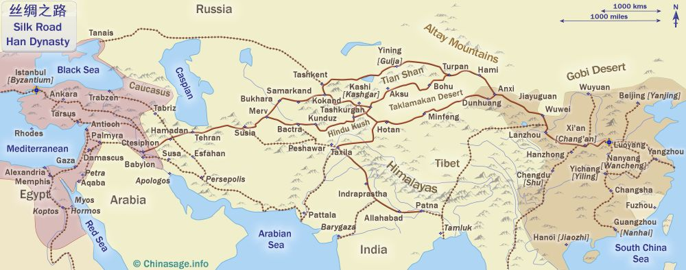 Image result for silk road tang dynasty